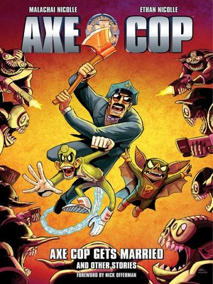 cover image of Axe Cop (2010), Volume 5