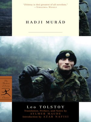 cover image of Hadji Murad