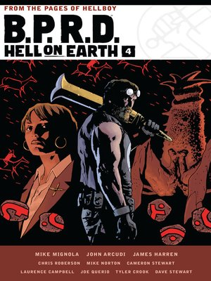 cover image of B.P.R.D. Hell on Earth Volume 4
