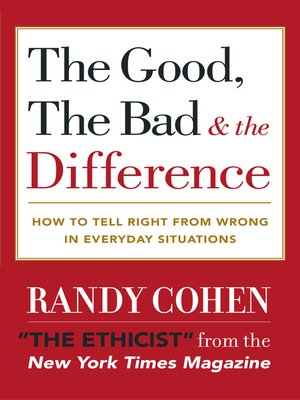 cover image of The Good, the Bad & the Difference