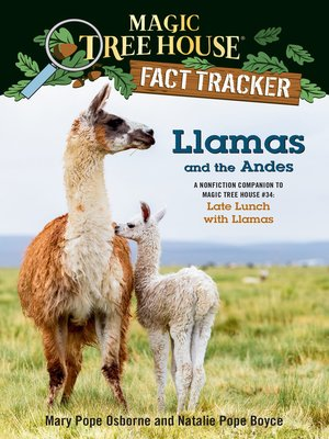 cover image of Llamas and the Andes