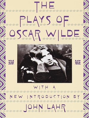 cover image of Plays of Oscar Wilde