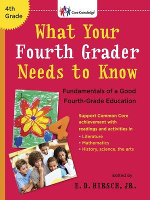 cover image of What Your Fourth Grader Needs to Know