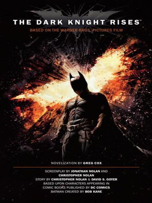 cover image of The Dark Knight Rises