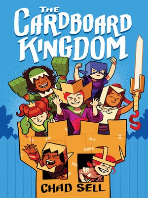 cover image of The Cardboard Kingdom