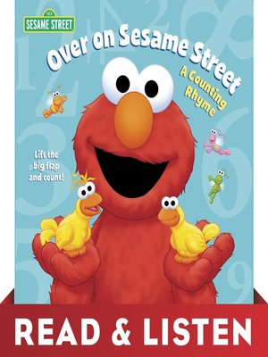 cover image of Over on Sesame Street