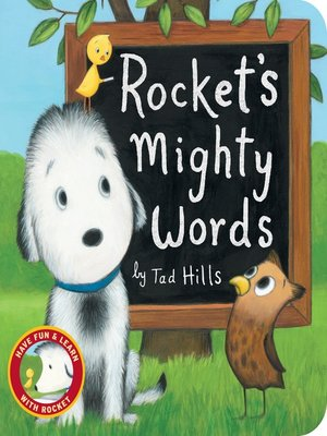 cover image of Rocket's Mighty Words