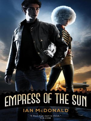 cover image of Empress of the Sun