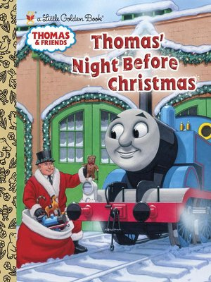 cover image of Thomas' Night Before Christmas