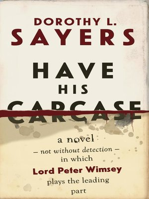 cover image of Have His Carcase