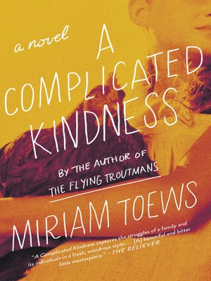 cover image of A Complicated Kindness