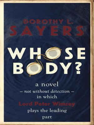 cover image of Whose Body