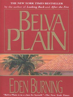 cover image of Eden Burning