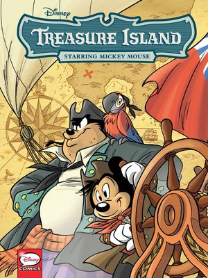 cover image of Disney Treasure Island, Starring Mickey Mouse