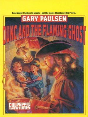 cover image of Dunc and the Flaming Ghost
