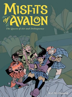 cover image of Misfits of Avalon (2014), Volume 2