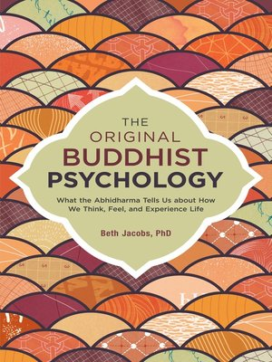 cover image of The Original Buddhist Psychology