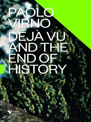 cover image of Deja Vu and the End of History