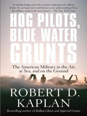 cover image of Hog Pilots, Blue Water Grunts