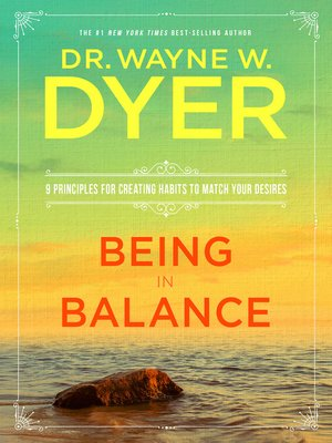 cover image of Being in Balance