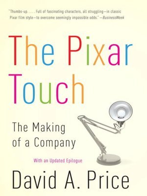 cover image of The Pixar Touch