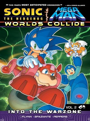 cover image of Sonic / Mega Man: Worlds Collide 2