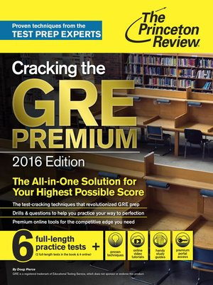 Cracking the GRE 2013 Edition PDF By Princeton Review Download
