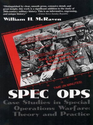 cover image of Spec Ops