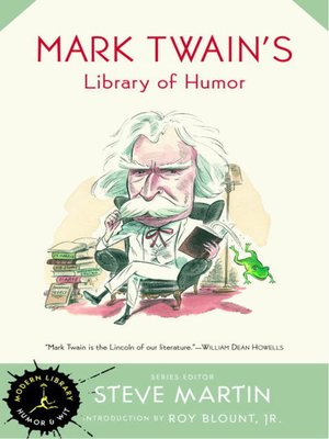 cover image of Mark Twain's Library of Humor