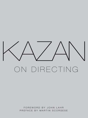 cover image of Kazan on Directing