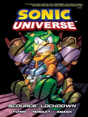 cover image of Sonic Universe 8: Scourge: Lockdown