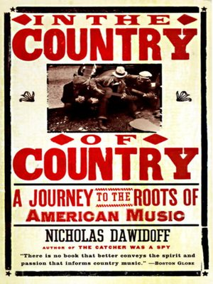 cover image of In the Country of Country
