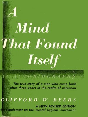 cover image of A Mind that Found Itself