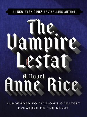 cover image of The Vampire Lestat