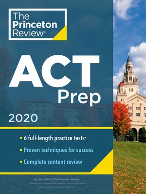 cover image of Princeton Review ACT Prep, 2020