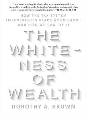cover image of The Whiteness of Wealth