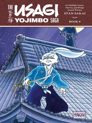 cover image of Usagi Yojimbo Saga Volume 9
