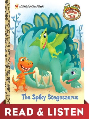 cover image of The Spiky Stegosaurus