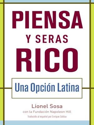 cover image of Piensa y seras rico
