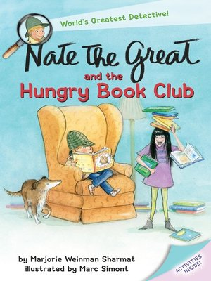 cover image of Nate the Great and the Hungry Book Club