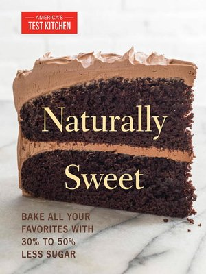 cover image of Naturally Sweet