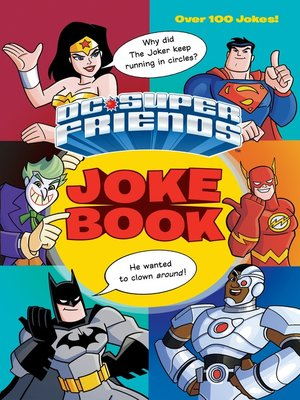 cover image of DC Super Friends Joke Book (DC Super Friends)