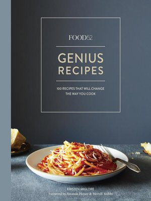 cover image of Food52 Genius Recipes
