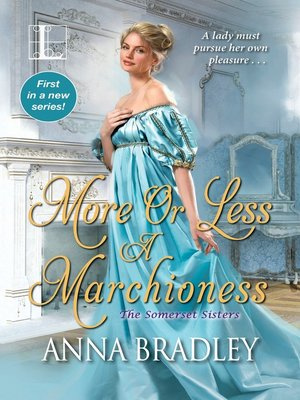 cover image of More or Less a Marchioness
