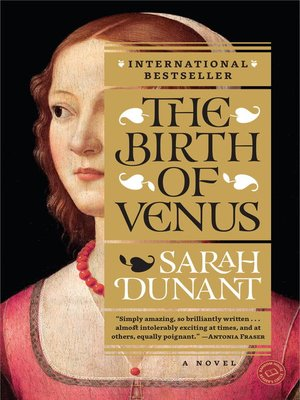 cover image of The Birth of Venus