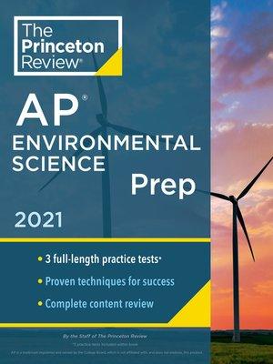cover image of Princeton Review AP Environmental Science Prep, 2021