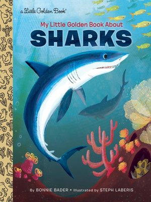 cover image of My Little Golden Book About Sharks