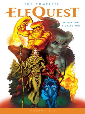 cover image of The Complete Elfquest, Volume 6