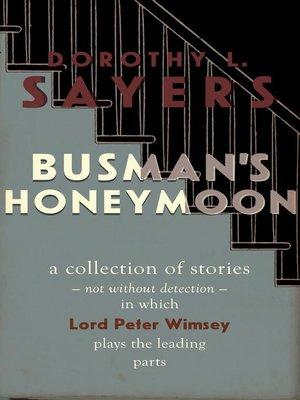 cover image of Busman's Honeymoon