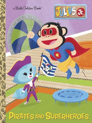 cover image of Pirates and Superheroes